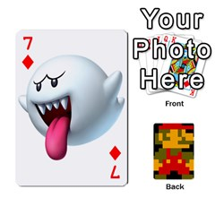 Mario By Cheesedork   Playing Cards 54 Designs   9pedszp4ty4p   Www Artscow Com Front - Diamond7