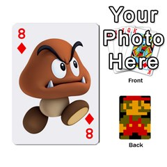 Mario By Cheesedork   Playing Cards 54 Designs   9pedszp4ty4p   Www Artscow Com Front - Diamond8