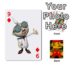 Mario By Cheesedork   Playing Cards 54 Designs   9pedszp4ty4p   Www Artscow Com Front - Diamond9