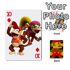 Mario By Cheesedork   Playing Cards 54 Designs   9pedszp4ty4p   Www Artscow Com Front - Diamond10