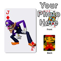 Jack Mario By Cheesedork   Playing Cards 54 Designs   9pedszp4ty4p   Www Artscow Com Front - DiamondJ