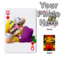 Queen Mario By Cheesedork   Playing Cards 54 Designs   9pedszp4ty4p   Www Artscow Com Front - DiamondQ
