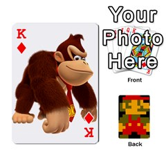 King Mario By Cheesedork   Playing Cards 54 Designs   9pedszp4ty4p   Www Artscow Com Front - DiamondK