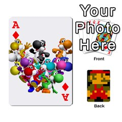 Ace Mario By Cheesedork   Playing Cards 54 Designs   9pedszp4ty4p   Www Artscow Com Front - DiamondA
