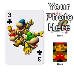 Mario By Cheesedork   Playing Cards 54 Designs   9pedszp4ty4p   Www Artscow Com Front - Club3