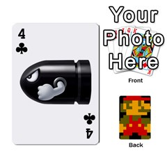 Mario By Cheesedork   Playing Cards 54 Designs   9pedszp4ty4p   Www Artscow Com Front - Club4