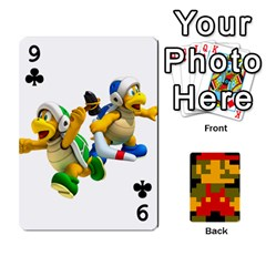 Mario By Cheesedork   Playing Cards 54 Designs   9pedszp4ty4p   Www Artscow Com Front - Club9