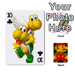 Mario By Cheesedork   Playing Cards 54 Designs   9pedszp4ty4p   Www Artscow Com Front - Club10