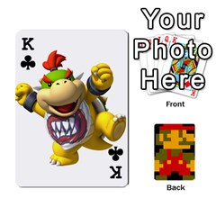 King Mario By Cheesedork   Playing Cards 54 Designs   9pedszp4ty4p   Www Artscow Com Front - ClubK
