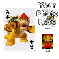 Ace Mario By Cheesedork   Playing Cards 54 Designs   9pedszp4ty4p   Www Artscow Com Front - ClubA