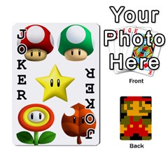 Mario By Cheesedork   Playing Cards 54 Designs   9pedszp4ty4p   Www Artscow Com Front - Joker1