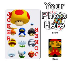 Mario By Cheesedork   Playing Cards 54 Designs   9pedszp4ty4p   Www Artscow Com Front - Joker2