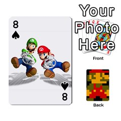 Mario By Cheesedork   Playing Cards 54 Designs   9pedszp4ty4p   Www Artscow Com Front - Spade8