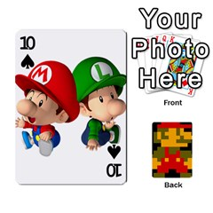 Mario By Cheesedork   Playing Cards 54 Designs   9pedszp4ty4p   Www Artscow Com Front - Spade10