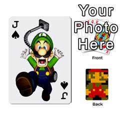 Jack Mario By Cheesedork   Playing Cards 54 Designs   9pedszp4ty4p   Www Artscow Com Front - SpadeJ