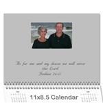 blanton - Wall Calendar 11  x 8.5  (12-Months)