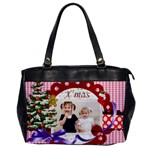 merry christmas - Oversize Office Handbag
