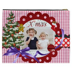 Merry Christmas By Joely   Cosmetic Bag (xxxl)   1pwciubqufus   Www Artscow Com Back