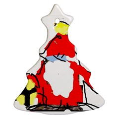 Christmas Tree 1 (your Own Text) By Riksu   Christmas Tree Ornament (two Sides)   Qe0rjmanqm9n   Www Artscow Com Front