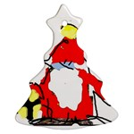 christmas tree 1 (your own text) - Christmas Tree Ornament (Two Sides)