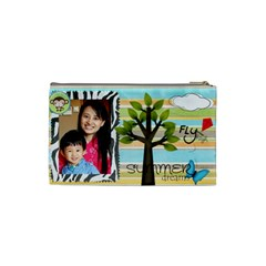By Chou Szu Ping   Cosmetic Bag (small)   9nubwbnkf4wm   Www Artscow Com Back