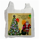 Santa Recycle Bag 1 (one side) - Recycle Bag (One Side)