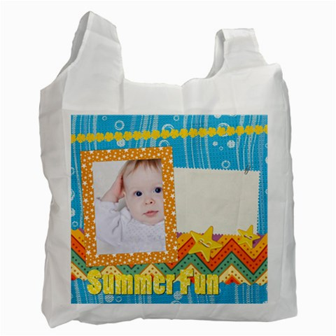 Summer By Betty   Recycle Bag (one Side)   1lfyx5uxqqc0   Www Artscow Com Front