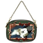 puppy chain purse (two sides)