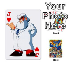 Jack Mega Man By Cheesedork   Playing Cards 54 Designs   Smlvwcjcpd6r   Www Artscow Com Front - HeartJ