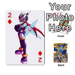 Mega Man By Cheesedork   Playing Cards 54 Designs   Smlvwcjcpd6r   Www Artscow Com Front - Diamond2