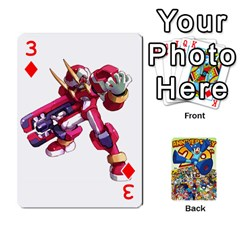 Mega Man By Cheesedork   Playing Cards 54 Designs   Smlvwcjcpd6r   Www Artscow Com Front - Diamond3
