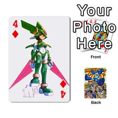 Mega Man By Cheesedork   Playing Cards 54 Designs   Smlvwcjcpd6r   Www Artscow Com Front - Diamond4