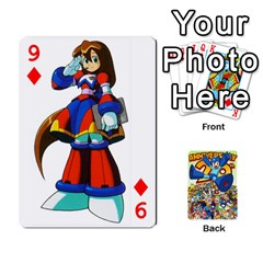 Mega Man By Cheesedork   Playing Cards 54 Designs   Smlvwcjcpd6r   Www Artscow Com Front - Diamond9
