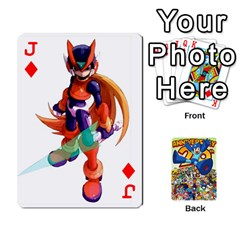 Jack Mega Man By Cheesedork   Playing Cards 54 Designs   Smlvwcjcpd6r   Www Artscow Com Front - DiamondJ
