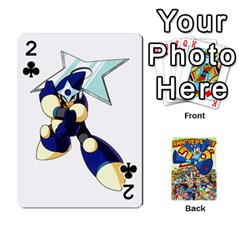 Mega Man By Cheesedork   Playing Cards 54 Designs   Smlvwcjcpd6r   Www Artscow Com Front - Club2