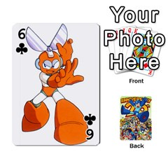 Mega Man By Cheesedork   Playing Cards 54 Designs   Smlvwcjcpd6r   Www Artscow Com Front - Club6