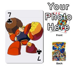 Mega Man By Cheesedork   Playing Cards 54 Designs   Smlvwcjcpd6r   Www Artscow Com Front - Club7