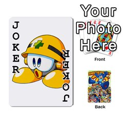 Mega Man By Cheesedork   Playing Cards 54 Designs   Smlvwcjcpd6r   Www Artscow Com Front - Joker1