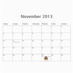 Kara Ricky 2013 By Angeline Petrillo   Wall Calendar 11  X 8 5  (12 Months)   Zc70cr4wxhqo   Www Artscow Com Nov 2013