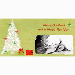 4 x8  Photo Cards Xmas By Deca   4  X 8  Photo Cards   Klp4nyp0yjgg   Www Artscow Com 8 x4 Photo Card - 6
