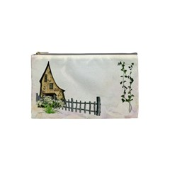 11 15 By Fish Yu   Cosmetic Bag (small)   Tkhssu8fx4kh   Www Artscow Com Front