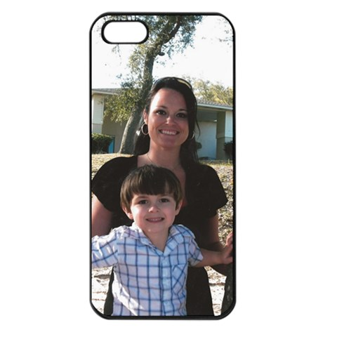Hannah By Natalie Burns   Apple Iphone 5 Seamless Case (black)   Fzb5s4hssq7x   Www Artscow Com Front