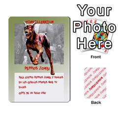 Zombies Aitor By Mrkaf   Playing Cards 54 Designs   X5rhlkwiwtat   Www Artscow Com Front - Heart4