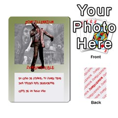 Zombies Aitor By Mrkaf   Playing Cards 54 Designs   X5rhlkwiwtat   Www Artscow Com Front - Heart7