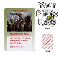 Zombies Aitor By Mrkaf   Playing Cards 54 Designs   X5rhlkwiwtat   Www Artscow Com Front - Heart8