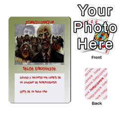 Zombies Aitor By Mrkaf   Playing Cards 54 Designs   X5rhlkwiwtat   Www Artscow Com Front - Spade4