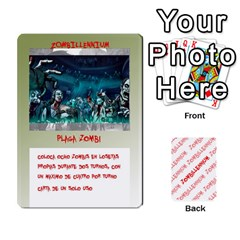Zombies Aitor By Mrkaf   Playing Cards 54 Designs   X5rhlkwiwtat   Www Artscow Com Front - Diamond3