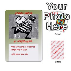 Zombies Aitor By Mrkaf   Playing Cards 54 Designs   X5rhlkwiwtat   Www Artscow Com Front - Diamond7
