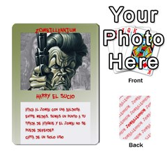 Zombies Aitor By Mrkaf   Playing Cards 54 Designs   X5rhlkwiwtat   Www Artscow Com Front - Club2