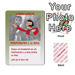 Zombies Aitor By Mrkaf   Playing Cards 54 Designs   X5rhlkwiwtat   Www Artscow Com Front - Club3